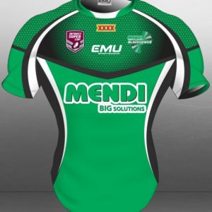 Townsville Blackhawks on field 2015 GREEN