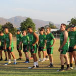 Mendi Blackhawks U20's for training for Season 2020. Photo Blackhawks Media