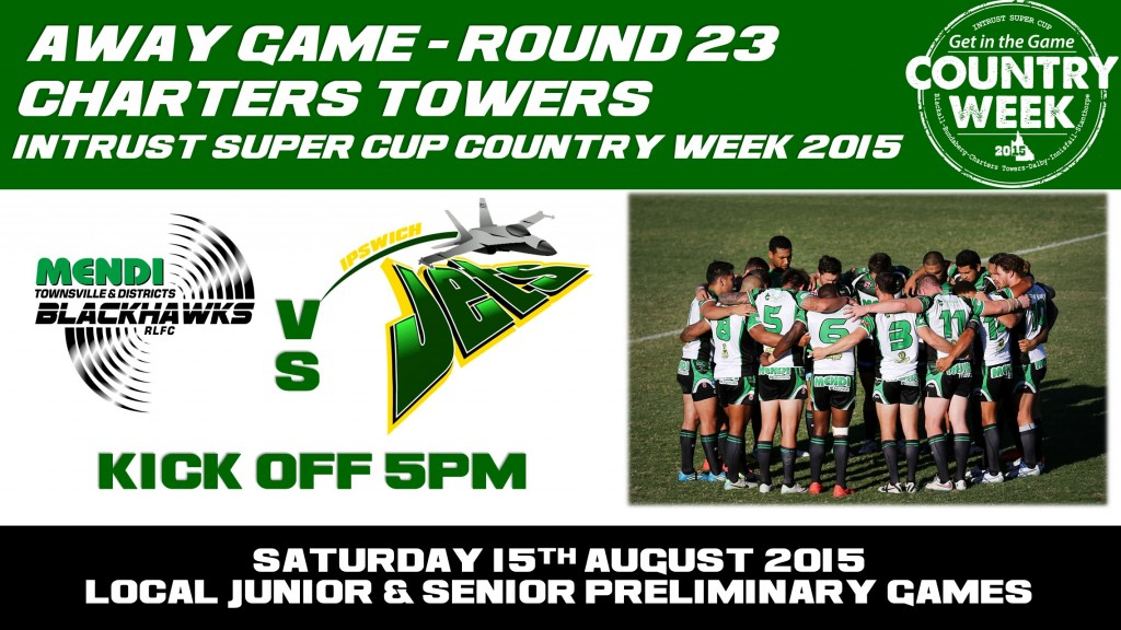 Charters Towers Round 23