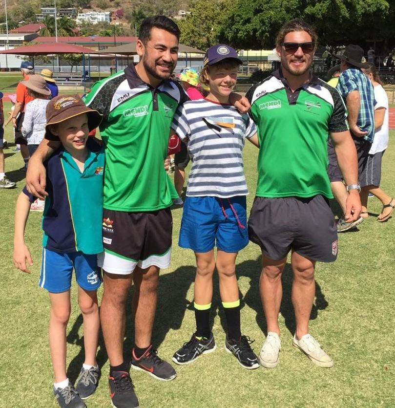 Blackhawks visit the 2015 Challenge Games « Mendi Townsville ...