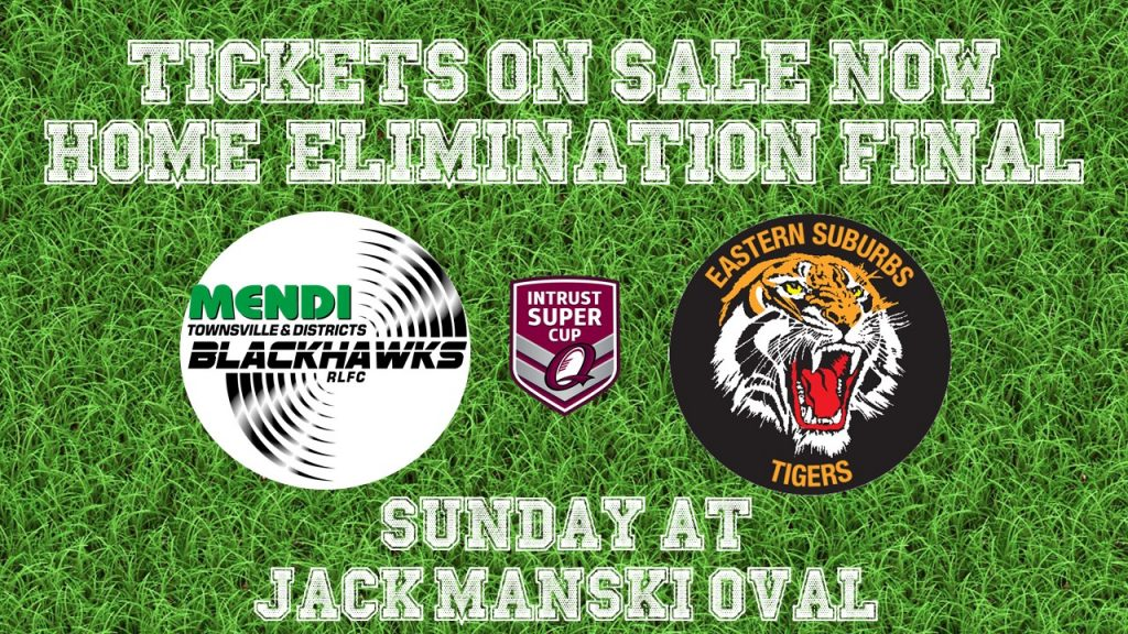 Tickets on Sale now elimination final